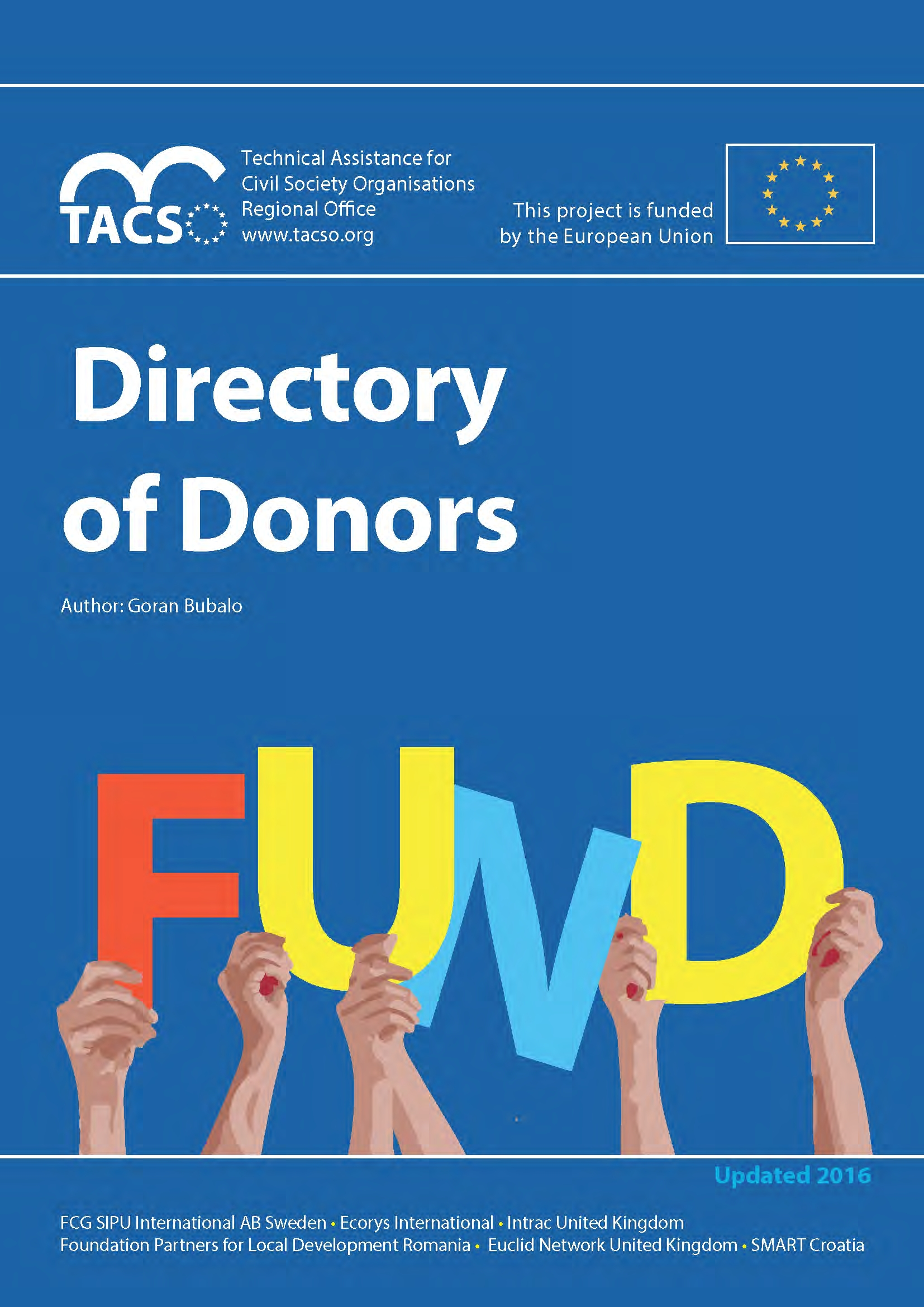 TACSO Directory of Donors